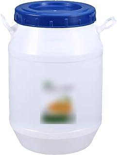 MNSSRN Seau à Godets enzymatique de qualité Alimentaire, Godet de Stockage d'eau Domestique avec Couvercle, Grade de Nourr...