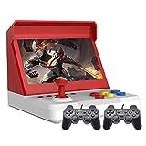 7.0 Pulgadas Quad-Core Multiplayer Retro Arcade Game Console 9000 Juegos Gratis Arcade y Otros 10 simuladores Batería de Litio de música de Video ahorrable Recargable (Blanco)