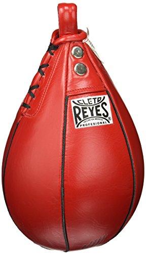 Cleto Reyes Bolsa de Velocidad para Entrenamiento de Boxeo, Color Rojo, Talla XS