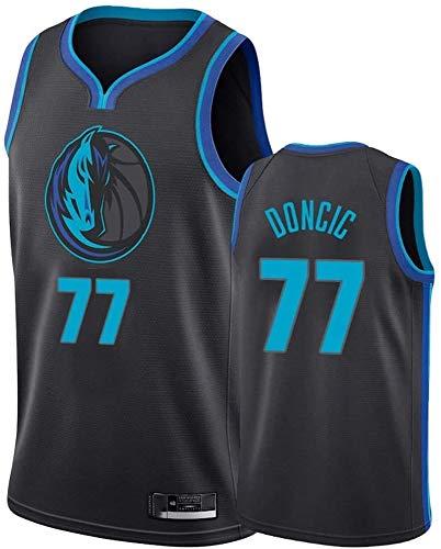 BPZ Camiseta De Baloncesto NBA para Hombre - NBA Luka Dončić 77#...