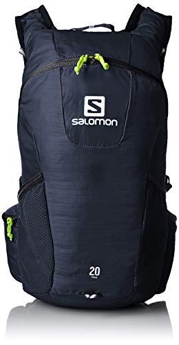 Salomon Unisex Trail 20 Running/Hiking Backpack, Night Sky/Sulphur Spring, 20 Litre
