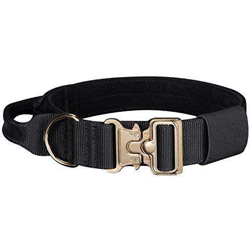EXCELLENT ELITE SPANKER Tactical Nylon Halsband Hund Einstellbar 16