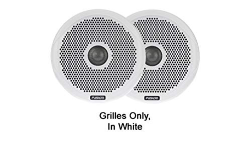 New Garmin 010-01645-00 Ms-FR4GW, Fusion, 4 Inch Grille White, Pair
