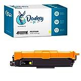 Donkey pc - Tóner Compatible TN-243Y TN243Y Reemplazo para Brother HL-L3210CW HL-L3230CDW HL-L3270CDW MFC-L3710CDW MFC-L3750CDW MFC-L3770CDW MFC-L3730CDW DCP-L3510CDW DCP-L3550CDW (1000 Páginas)