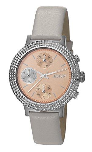 Joop! Damen Analog Quarz Uhr mit Leder Armband JP101852001