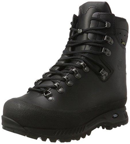 Hanwag Herren Alaska Wide GTX Trekking- & Wanderstiefel, Schwarz (Schwarz Black), 42 EU