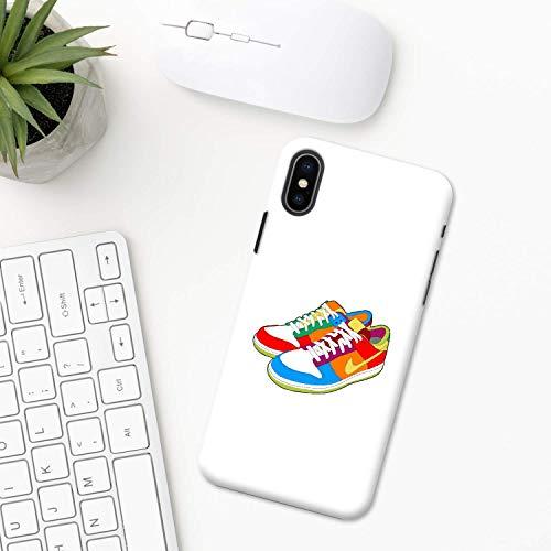 Espadrille Étui iPhone XR 11 X XS MAX Pro 8 7 Plus 6 6s 5 5s SE 2020 10 plastique Coque silicone Apple iPhone Cas de téléphone style chaussures tendance
