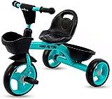 Zeyujie Cochecito de bebé con cesta, Radio Flyer, Triciclo, Carro de bebé, Bicicleta de equilibrio, Juguete for bebés, Triciclo, Asiento portátil, Cesta de almacenamiento adicional, Adecuado for niños