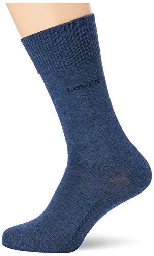 Levi's Herren Levis 168Sf Regular Cut 2P Socken, Blau (Denim Blue 460), (Herstellergröße:043)