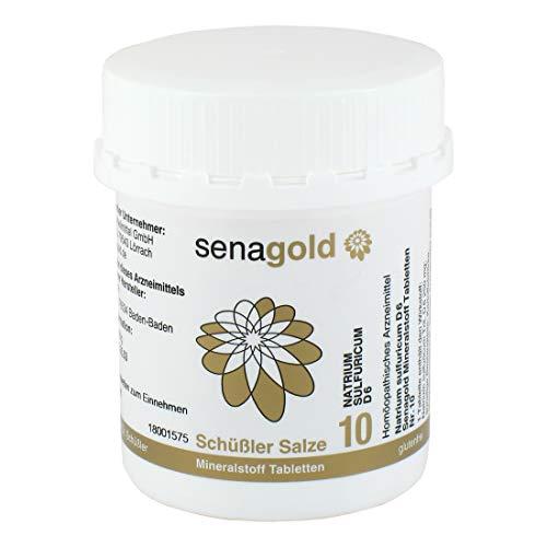 Schüssler Salz Nr. 10 - Natrium sulfuricum D6 | Tabletten | glutenfrei (400 St.)