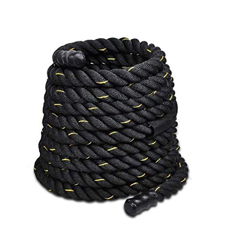 Great Price! ZHLJ 38 мм 9/12м Black Fighting Rope Muscle Training Rope Strength Training Rope Wor...