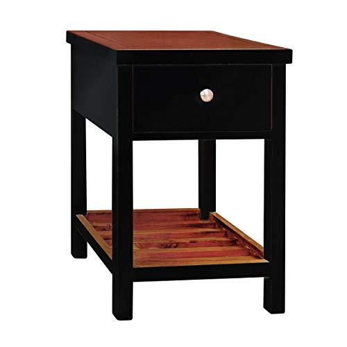 Porthos Home Tonality Designs Pari Classic Side Table, Black