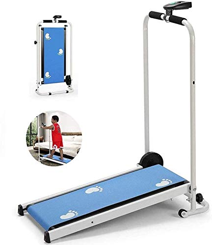 QIYUE Opvouwbare Mini loopband Wandelen Jogging Machine 75 * 29cm loopband Met Display - Fitness for Home/Office