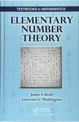 Elementary Number Theory (Textbooks in Mathematics)