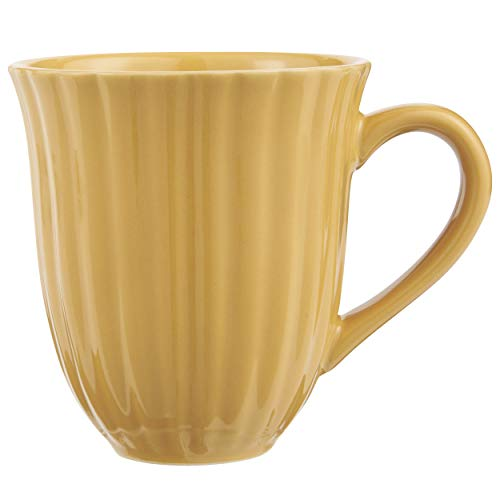 IB Laursen Kaffeebecher, Tasse MYNTE Mustard gelb für 300ml Steingut