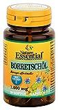 BORRETSCHÖL 1000 + Vitamin E, naturreines Öl plus Zellschutz-Funktion durch Omega-Fettsäuren,...