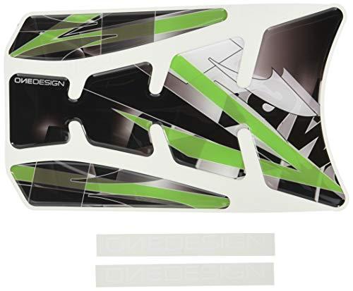Puig 4720N Protector de deposito, Color Negro y Verde