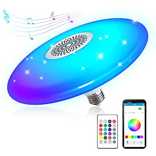 Zokez Wireless Bluetooth Light Bulb with Speaker