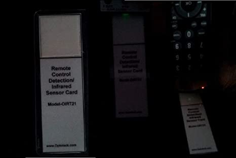 Sensor Cards-wide wavelength detection 800-1800nm Infrared IR