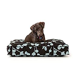 image of eLuxury 5 inch Thick Gel Memory Foam Orthopedic Dog Bed Made in the USA
