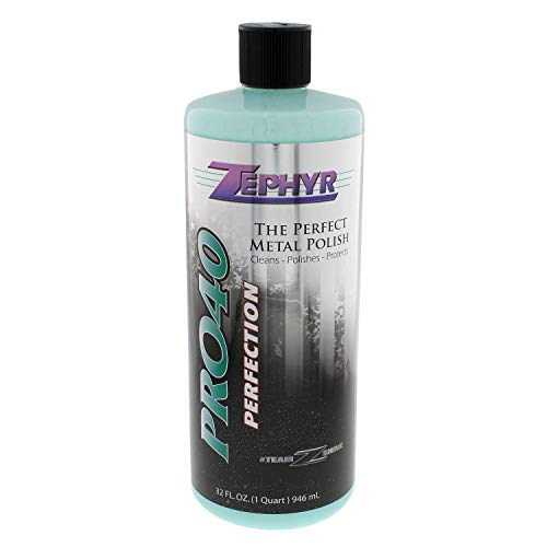 Zephyr PRO40032 32 oz. Pro-40 Metal Polish, 1 Pack