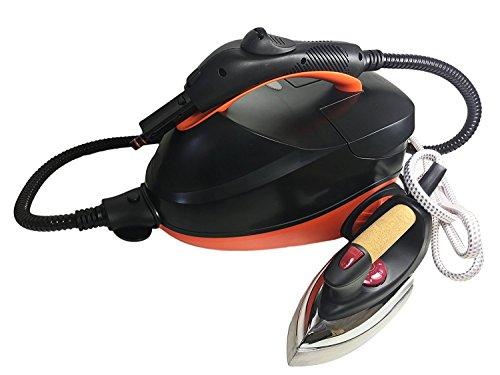 Deluxe VAPORETA con Central DE Planchado Pro | Limpieza Sistema H-Clean 1500W | Centro DE Planchado de 800W 16 Accesorios Limpieza