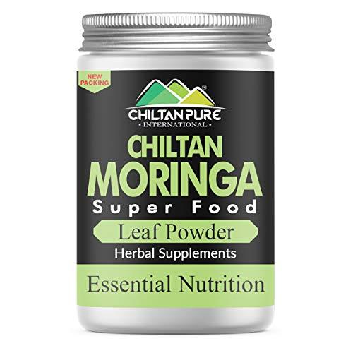 ChiltanPure 100% Pure Moringa Powder 200g [ Premium Quality ] - Organic Moringa Oleifera Leaf Powder - Pure & Natural