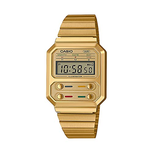 Reloj Casio Collection Vintage Series Digital Gold A100WEG-9AEF