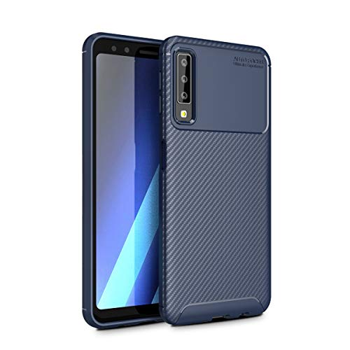 fitmore Samsung Galaxy A7 2018 Hülle, Samsung Galaxy A7 2018 Shock-Absorption Cover Haut Defender Protective Hülle Cover Compatible with Samsung Galaxy A7 2018