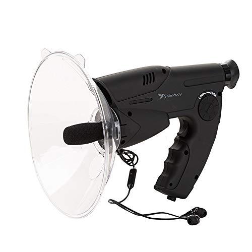 JDH Hörgerät, Bionic Ear Elektronisches Hörgerät Digitales Gerät Naturbeobachtungs- und Hörgerät, Extremschallverstärker, Support-TF-Karte, Kopfhörer inklusive