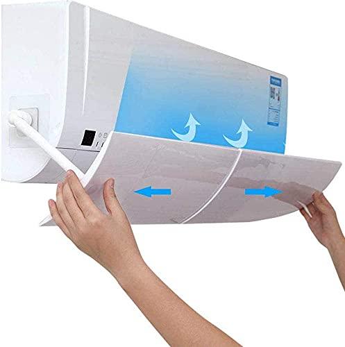 ConPush Deflettore climatizzatore Regolabile per Parabrezza Aria condizionata Scudo del condizionatore Deflettore per Condizionatore per climatizzatore a muro new