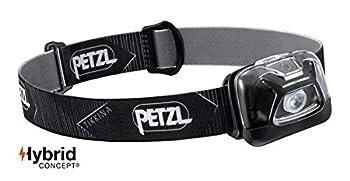 PETZL E91ABA Tikkina Lampe Frontale Noir & NOCTILIGHT - étuis pour équipements, TIKKINA, Tikka, ZIPKA, ACTIK, ACTIK Core, REACTIK, REACTIK +, TACTIKKA, TACTIKKA +RGB, 85 g, Noir/Orange