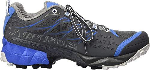 LA SPORTIVA Akyra Woman, Scarpe da Trail Running Donna, Multicolore (Carbone/Blu Cobalto 000), 36 EU
