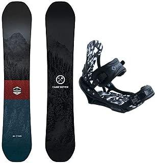 System Redwood Men's Snowboard Package APX Bindings 2020