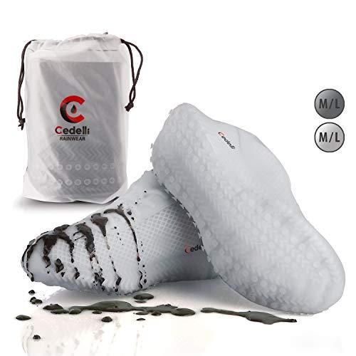 mächtig der welt Cedelli® Rainwear |  1 Stellen Sie M | ein  Silikon Schuhüberzüge für Männer und Frauen |  Wiederverwendbare Überschuhe…