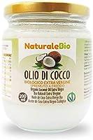 Biologische kokosolie extra vierge 200 ml. Rauw en koud geperst. 100% Organisch, natuurlijk en puur. Native Bio en...