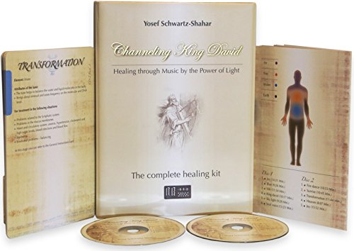 Channeling King David - A complete therapy CD kit, based on the Healing Through Music 'HTM' method - An ancient resonance vibration to heal your body, raise your spirit and boost your immune system.
