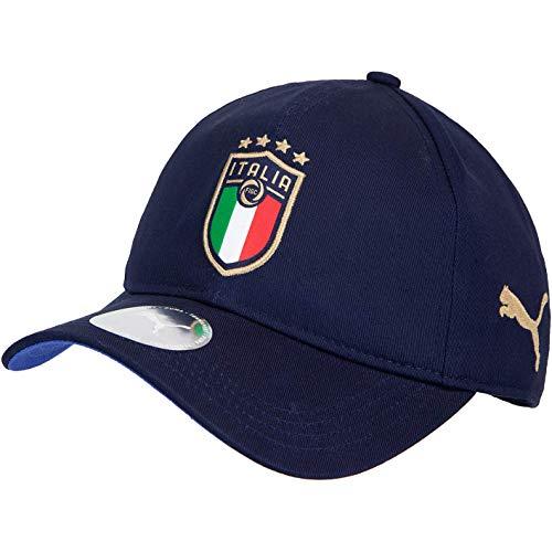 Puma FIGC Italia Team Cap - Gorra, verde, talla única