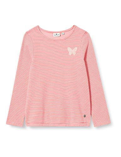 TOM TAILOR Baby-Mädchen Sweatshirt T-Shirt, Rouge red|red, 104/110