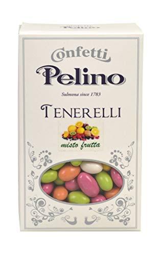 Confetti Pelino Tenerelli Misto Frutta, 1 kg, 210 Conteggio