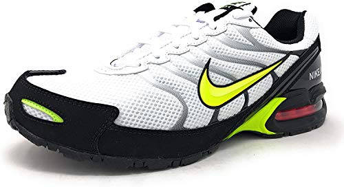 Nike Air Max Torch 4 Mens Running Shoe White/Volt-Black, Size 8 US