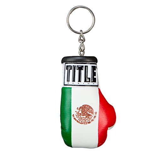 Title Excel Boxing Glove Keyring, Mexico