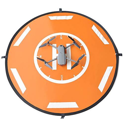 Queenser Compatível com AIR 2S Mavic Air 2 Mavic Pro Drones Landing Pads Portáteis Dobráveis Landing Pads 110cm Universal à prova d'água para Mavic Mini Spark Hubsan FIMI Drone