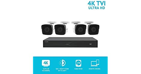 LaView 8MP IP 8-Ch. 4K 1TB DVR Security System w/ 4 Cameras only $199.99
