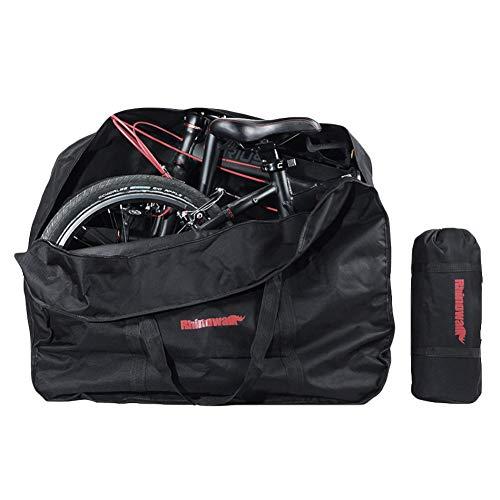 Clyline Cubierta Bicicleta con Tejido 210D Premium, contra Lluvia Sol Polvo para Bicicletas de Montaña y Carretera, Funda Bicicleta Plegable con Bolsa de Almacenamiento
