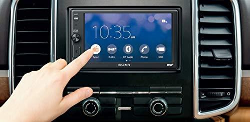 Sony XAV-AX1005DB SintoMonitor 2DIN, DAB/DAB+-Empfang, 6,4 Zoll Display, Apple CarPlay, Sprachsteuerung, Bluetooth, externes Mikrofon, 4x55W, USB iPhone/iPod