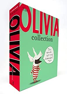 The Olivia Collection: Olivia; Olivia Saves the Circus; Olivia...and the Missing Toy; Olivia Forms a Band; Olivia Helps with Christmas; Olivia Goes to Venice; Olivia and the Fairy Princesses by Falconer, Ian (2012) Hardcover