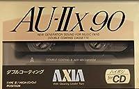 AXIA カセットテープ AU-IIX 90分 アクシア ハイポジの頂点 AU-2X 90