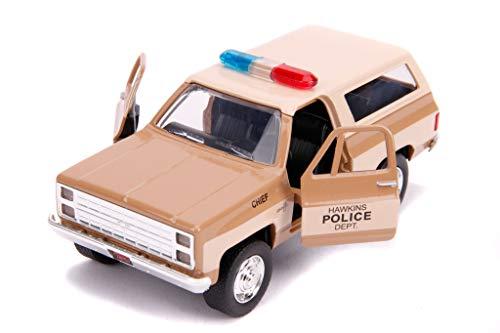 Stranger Things Hopper's Chevrolet Blazer Hawkins Police Dep