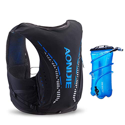 AONIJIE Hydration Pack 10 Set Chaleco Ligero para Correr con